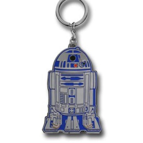 Star Wars R2D2 Metal Keychain