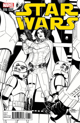 STAR WARS VOL 4 #16 TERRY DODSON SKETCH VARIANT