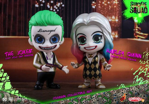 Hot Toys Suicide Squad Cosbaby Joker and Harley Club Set