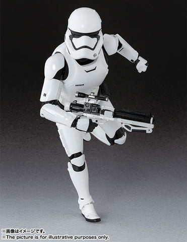 S.H. FIGUARTS STAR WARS THE FIRST ORDER STORM TROOPER