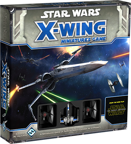 STAR WARS X WING Miniatures GAME Force Awakens.