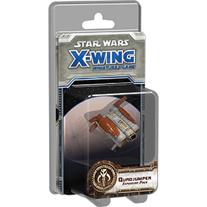 STAR WARS X WING GAME Quadjumper Expansion Pack