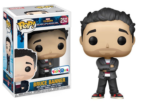 FUNKO Marvel Thor Ragnarok Toys R Us Bruce Banner Exclusive