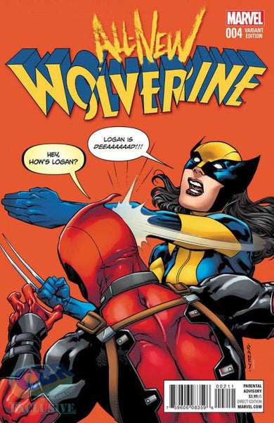 ALL-NEW WOLVERINE #4 TOM RANEY VARIANT