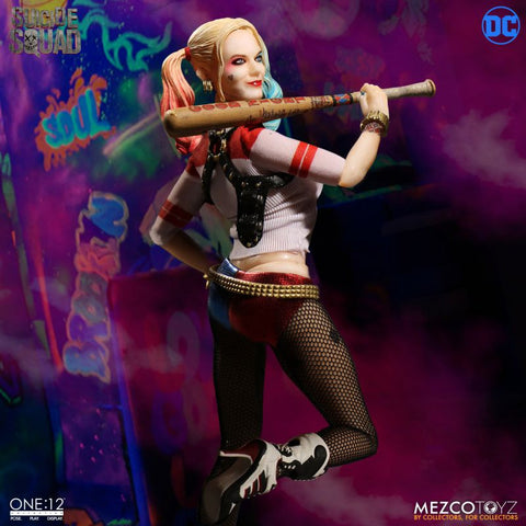 Mezco one:12 Suicide Squad Harley Quinn