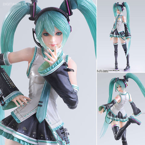 Play Arts Kai Hatsune Miku Figure