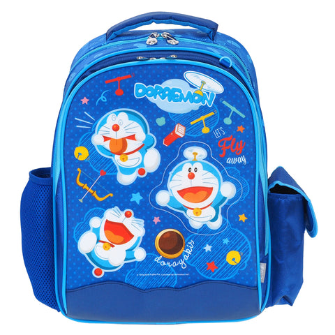 Doraemon Glitter Cover EVA School Bag (S) 小童閃紗書包 (細)