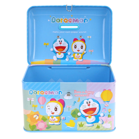 Doraemon Tin Coin Bank 手挽鐵錢箱