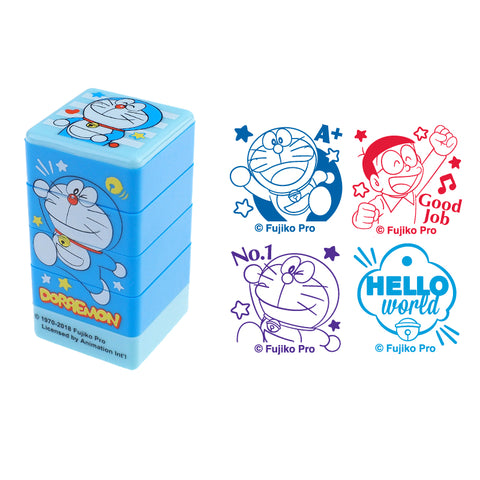 Doraemon 4-In-1 Stamp 4合1原子印