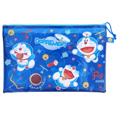 Doraemon PVC Mesh Bag (Large Size) 文件袋 (大)