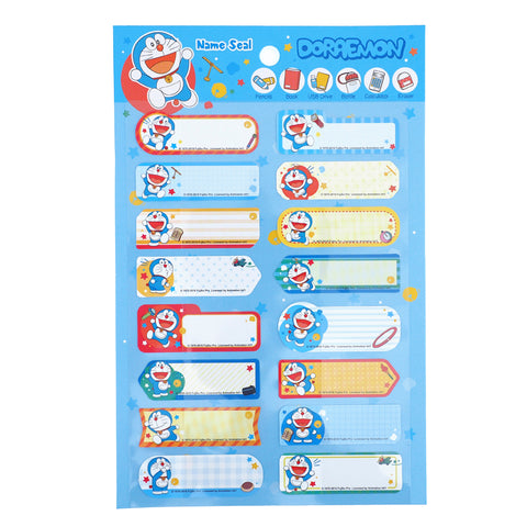 Doraemon Name Sticker 姓名貼紙
