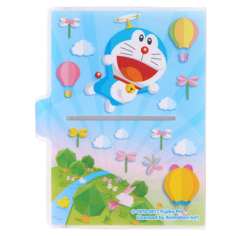 Doraemon Glitter PVC Passport Holder 閃紗料面証件套