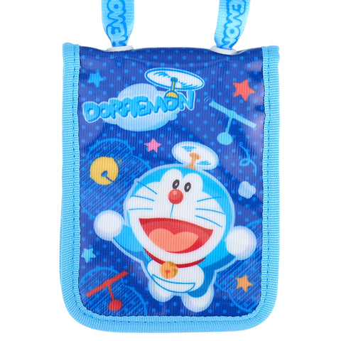 Doraemon Laminated Fabric Card Holder with Neck Strap 証件套連頸繩