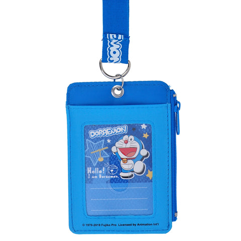 Doraemon Card Holder with Neck Strap 証件套連頸繩