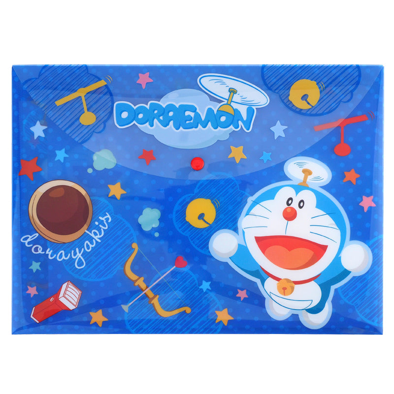 Doraemon A4 PP Data Bag 文件袋