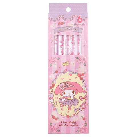 My Melody 6 Pencil (6 PCS) 6支裝鉛筆