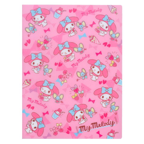 My Melody A4 PP File Book (20 Pockets) 20頁文件夾簿