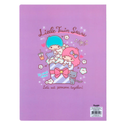 Little Twin Stars A4 PP File Book (20 Pockets) 20頁文件夾簿
