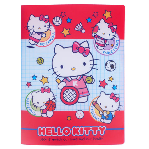 Hello Kitty A4 PP File Book (20 Pockets) 20頁文件夾簿