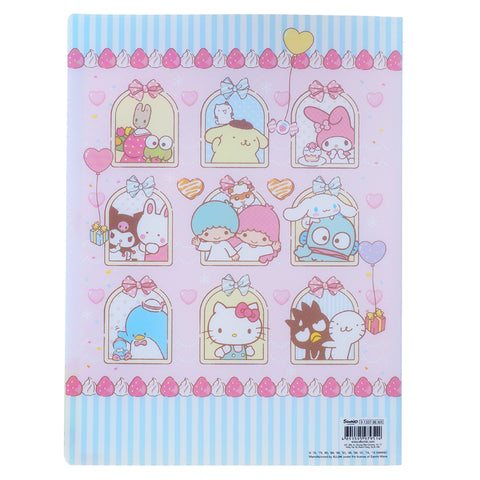 Mix Characters A4 PP File Book (20 Pockets) 20頁文件夾簿