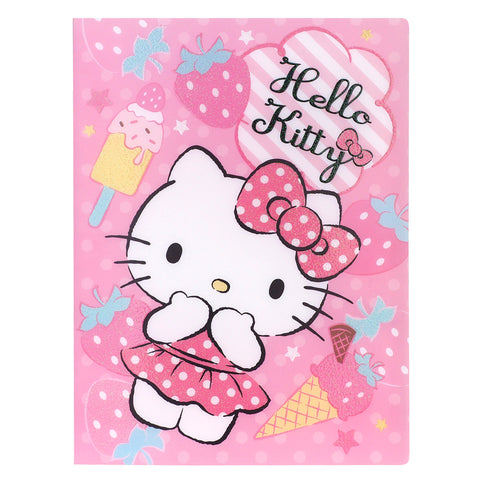 Hello Kitty A4 PP File Book (40 Pockets) 40頁文件夾簿