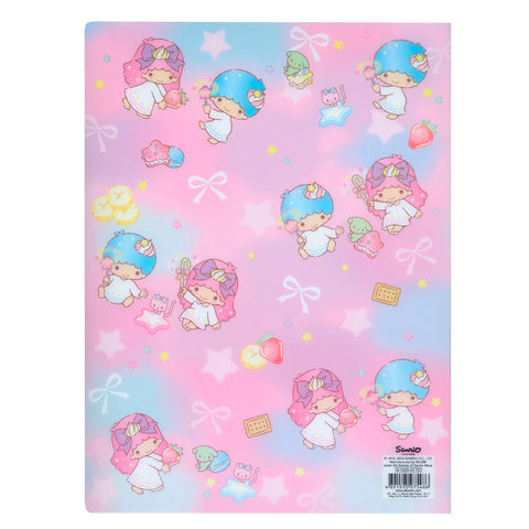 Little Twin Stars A4 PP File Book (40 Pockets) 40頁文件夾簿
