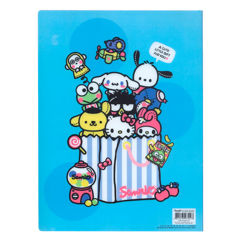 Mix Characters A4 PP File Book (40 Pockets) 40頁文件夾簿