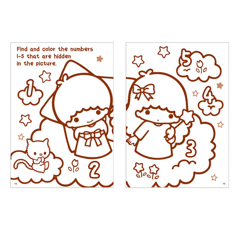 Little Twin Stars Coloring Book 填色簿