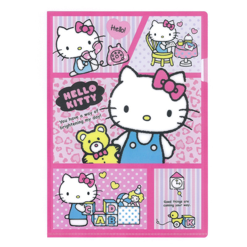 Hello Kitty A4 PP File 文件夾