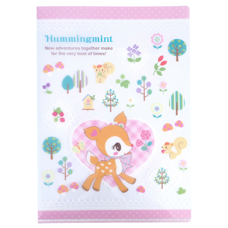 Hummingmint A4 PP File 文件夾