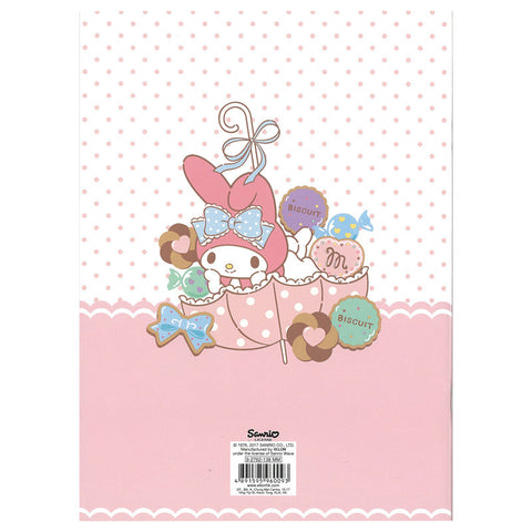 My Melody Notebook 單行簿