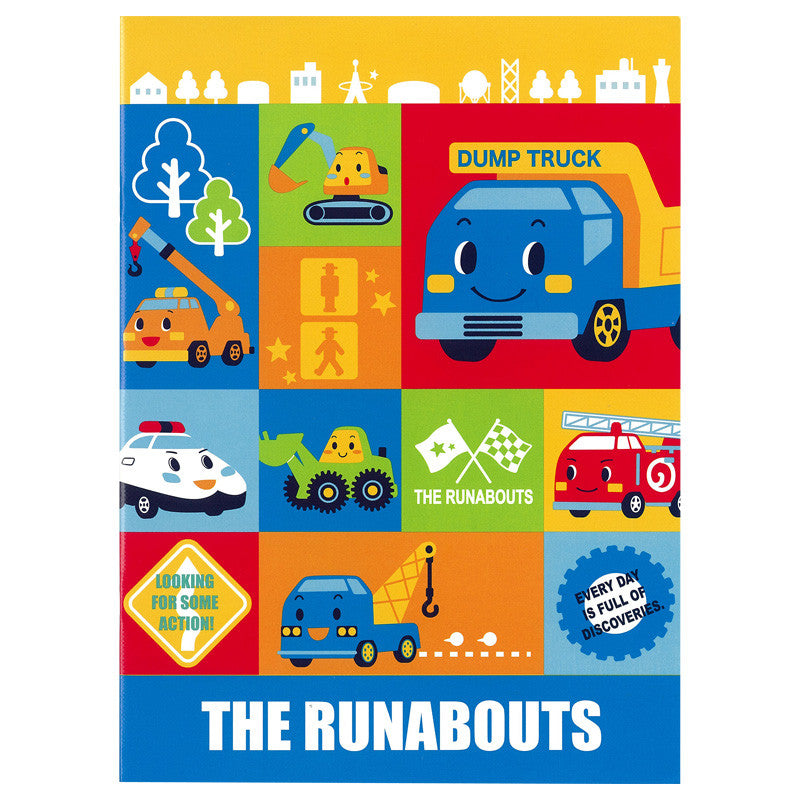 The Runabouts Notebook 單行簿