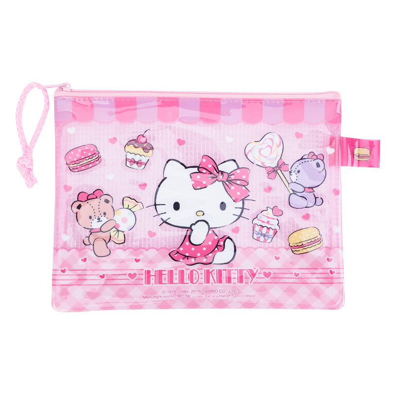 Hello Kitty PVC Mesh Bag (S) 文件袋 (細)
