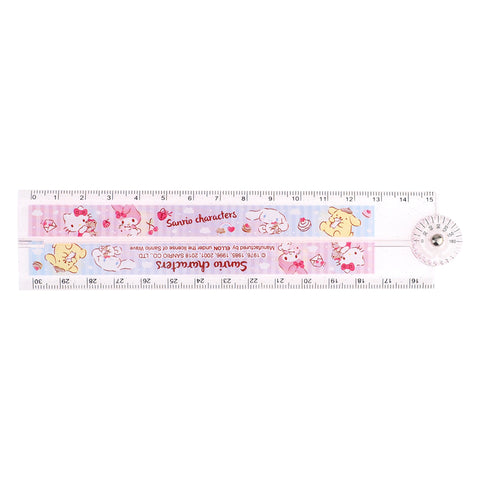 Mix Characters Multi-Function Foldable Ruler 多用途折疊尺
