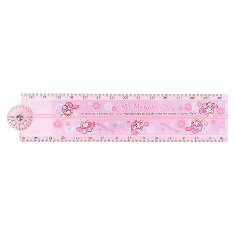 My Melody Multi-Function Foldable Ruler 多用途折疊尺