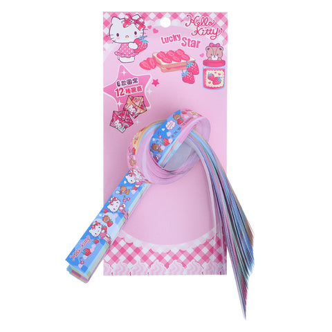 "Hello Kitty ""Lucky Stars"" Folding Paper (60 pcs) 星星手工紙條 (60條)"