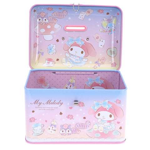 My Melody Tin Coin Bank 手挽鐵錢箱