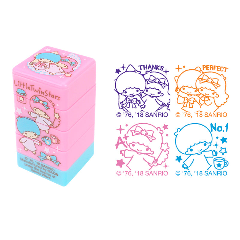 Little Twin Stars 4-In-1 Stamp 4合1原子印