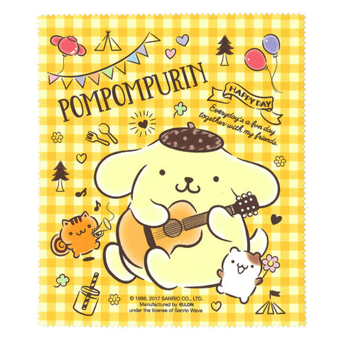 PomPomPurin Glasses Cleaning Cloth 眼鏡布