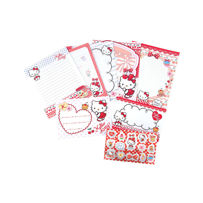 Hello Kitty Letter Set 信封信紙套裝