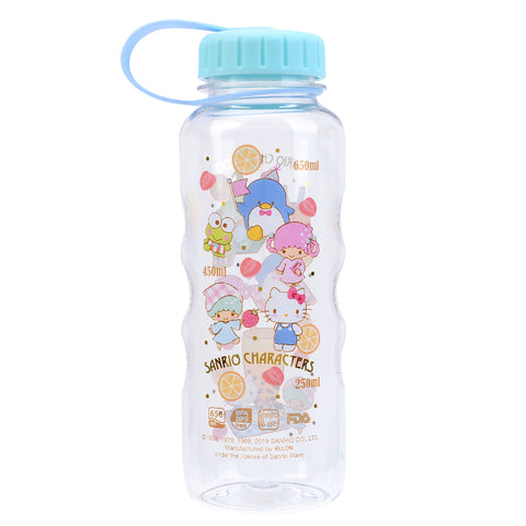 Mix Characters 650ml Water Bottle 膠水樽