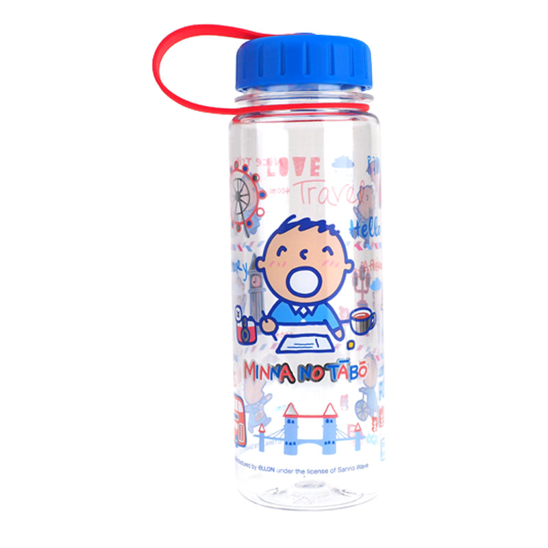 Minna No Tabo 450ml Water Bottle 膠水樽