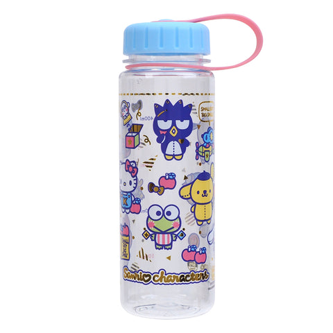 Mix Characters 450ml Water Bottle 膠水樽