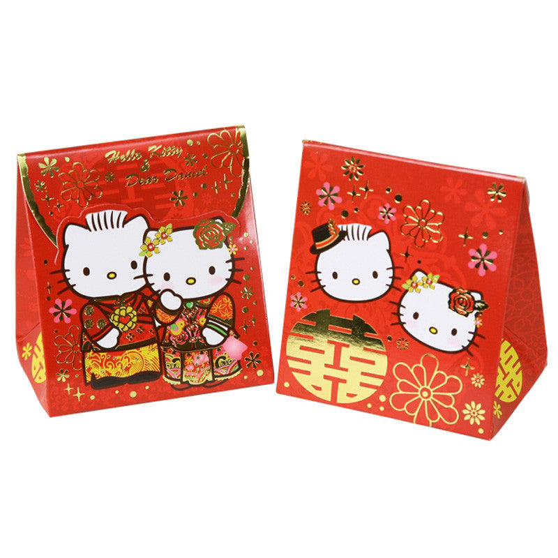 Hello Kitty & Dear Daniel Wedding Paper Gift Box (6Pcs/Set) 中式結婚禮物盒 (6個裝)