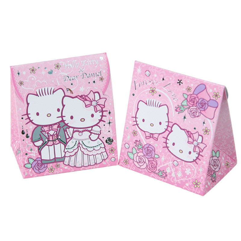 Hello Kitty & Dear Daniel Wedding Paper Gift Box (6Pcs/Set) 西式結婚禮物盒 (6個裝)