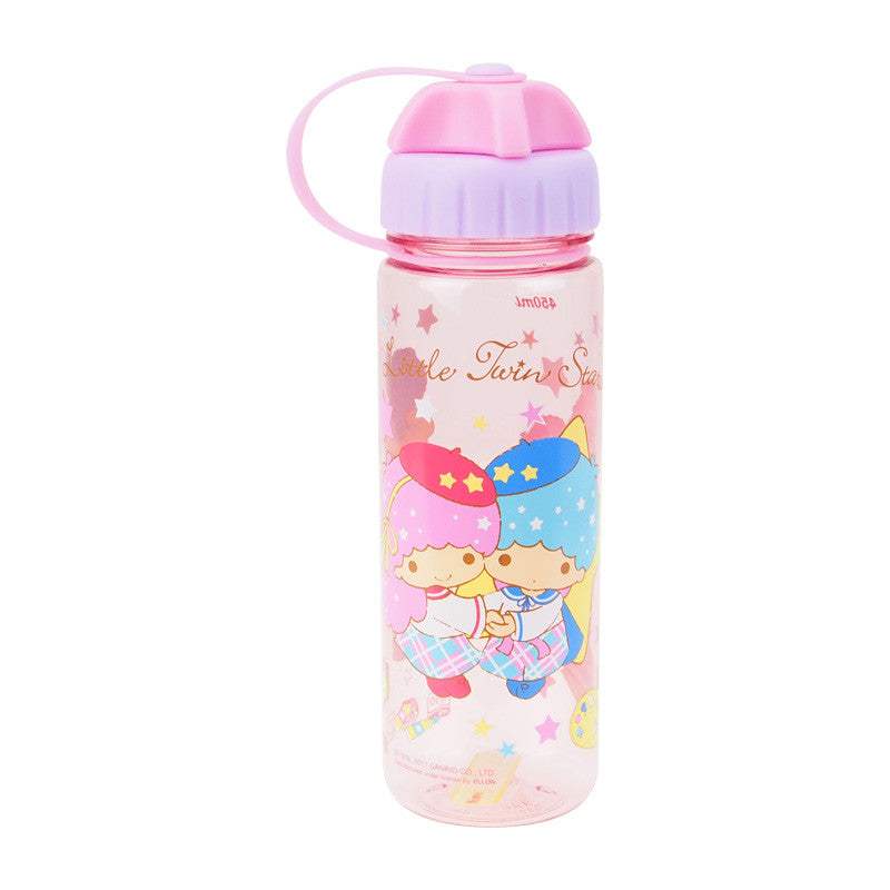 Little Twin Stars 450ml Water Bottle 膠水樽