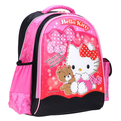 Hello Kitty Laser Cover EVA School Bag (L) 小童鐳射書包 (大)