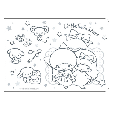 Little Twin Stars Sticker Album With Sticker 貼紙簿連貼紙