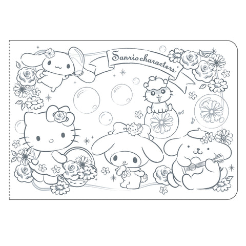 Mix Characters Sticker Album With Sticker 貼紙簿連貼紙