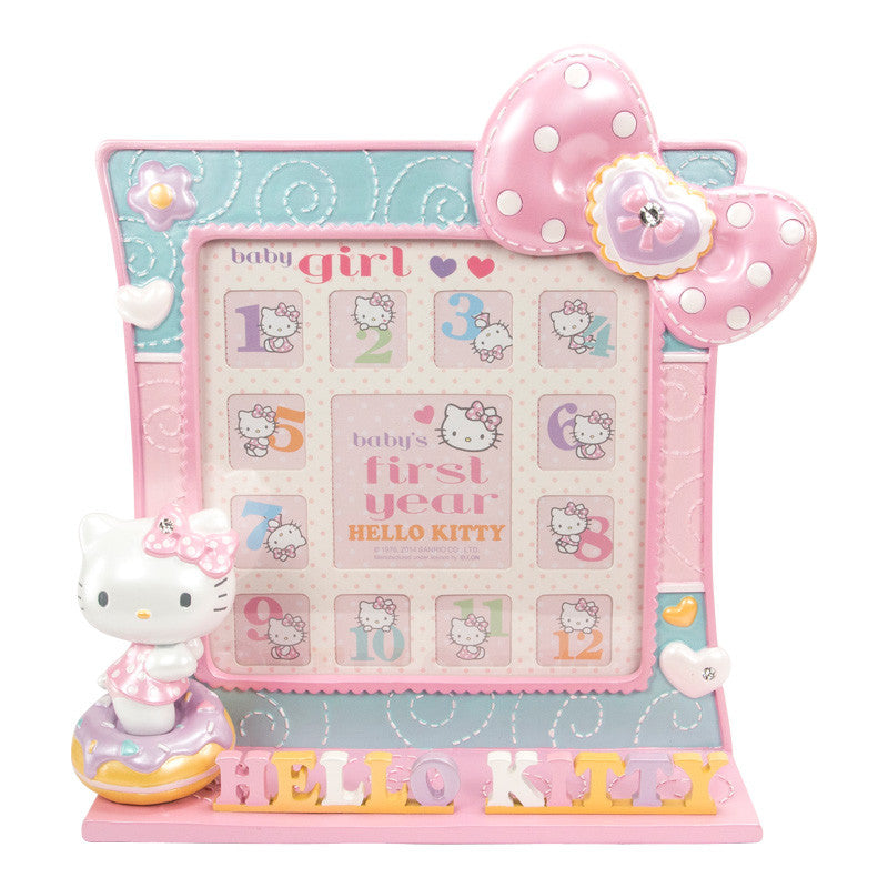 Hello Kitty My First Year Polyresin Photo Frame 12個月嬰兒相架